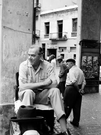 peter-stackpole-author-graham-greene-sitting-on-the-set-of-our-man-in-havana-